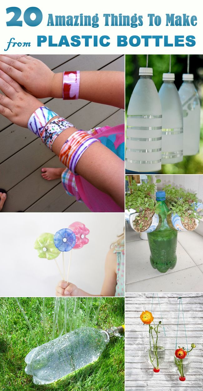 17 best images about reduce reuse recycle on pinterest for Things to do with plastic bottles