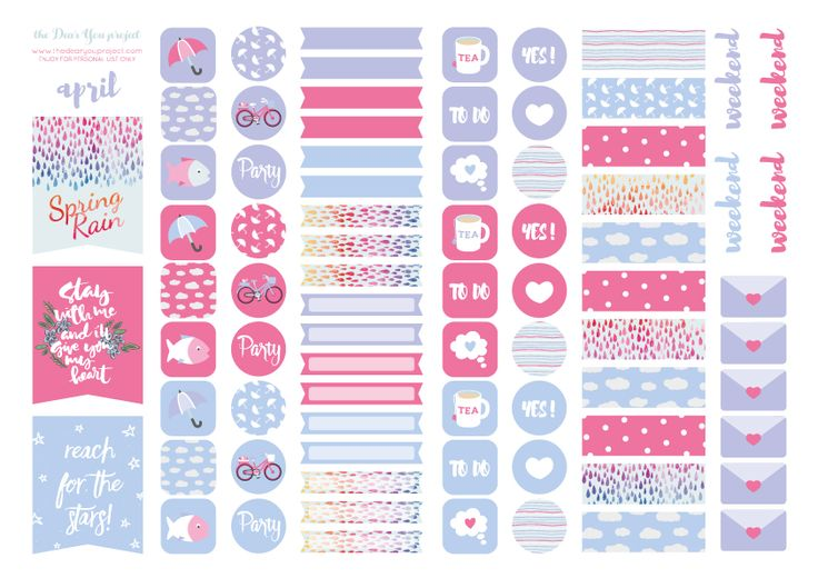 17 Best ideas about Printable Planner Stickers on ...