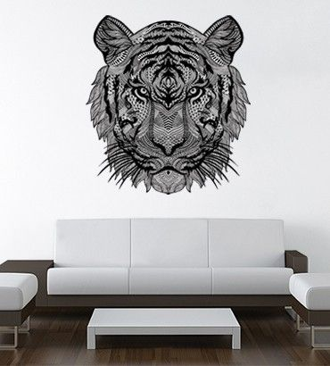 Streetwallz - Black Tiger Wall Decal, $100.00 (http://www.streetwallz.com/black-tiger-wall-decal/)