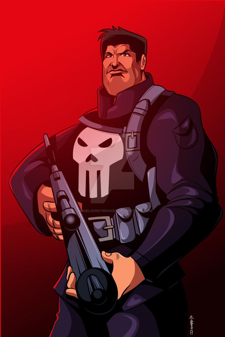 The punisher   #comic #comics #comiart #illustrator #illustration #vectores #vector #marvel #marvelcomics