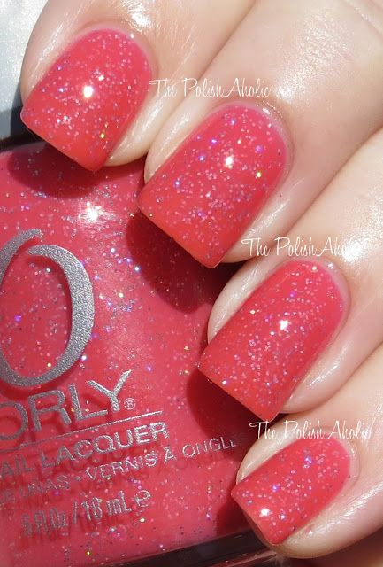 ORLY- Elation Generation, sparkly red<3