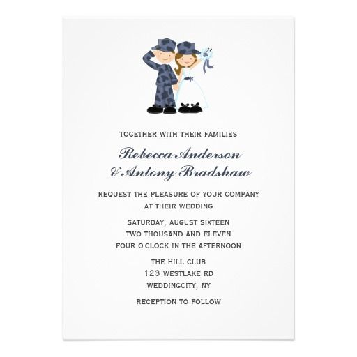 bride and soldier in blue camouflage wedding card wedding card weddings and wedding - Military Wedding Invitations