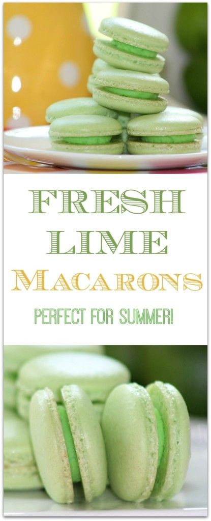 Cookies are one of my favorite foods. I adore macarons but whenever I see them in a bakery they are so crazy expensive. Surprisingly they are not that hard to make! As almond flour is used that part of the recipe is a bit more expensive but they are so worth it. Don't buy these when you can DIY. This lime version is perfect for a summer dessert! These would also make a lovely gift.