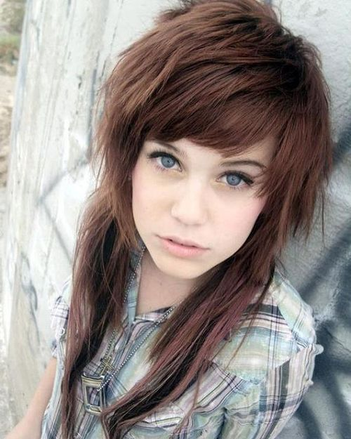 Awe Inspiring 17 Best Ideas About Emo Haircuts For Girls On Pinterest Emo Hairstyles For Women Draintrainus