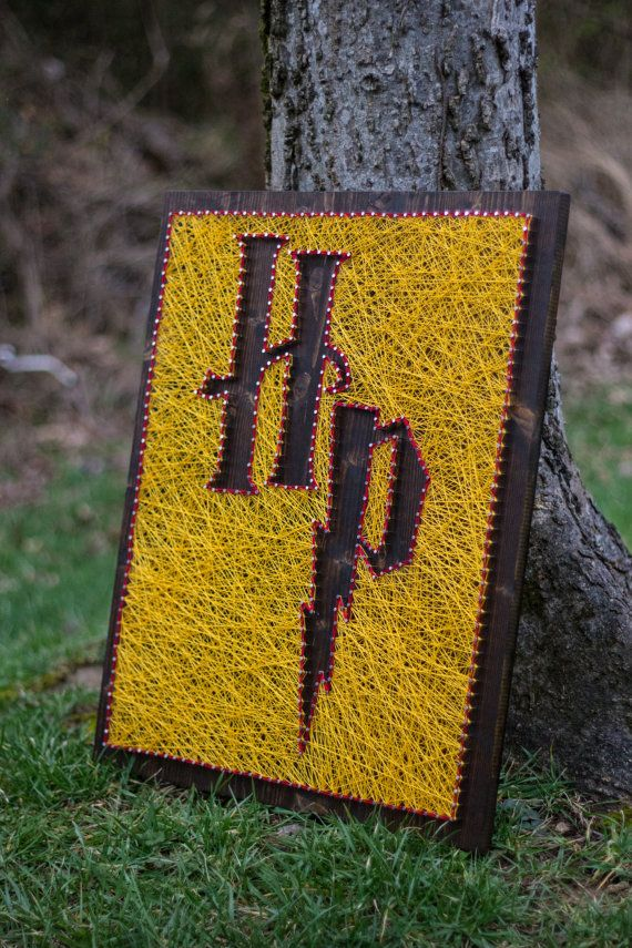 """20""""x24"""" Harry Potter String Art 