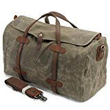 Review for Fresion Unisex Canvas Weekend Bag Plenty of Storage Durable Hodall Flight Approv... - Ramadasa Jivatma  - Blog Booster
