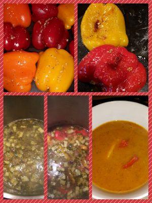 Lekker en leuk!: Paprika courgette soep
