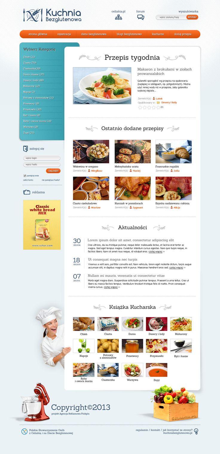 Kuchnia Bezglutenowa Gluten Web Design Celiac