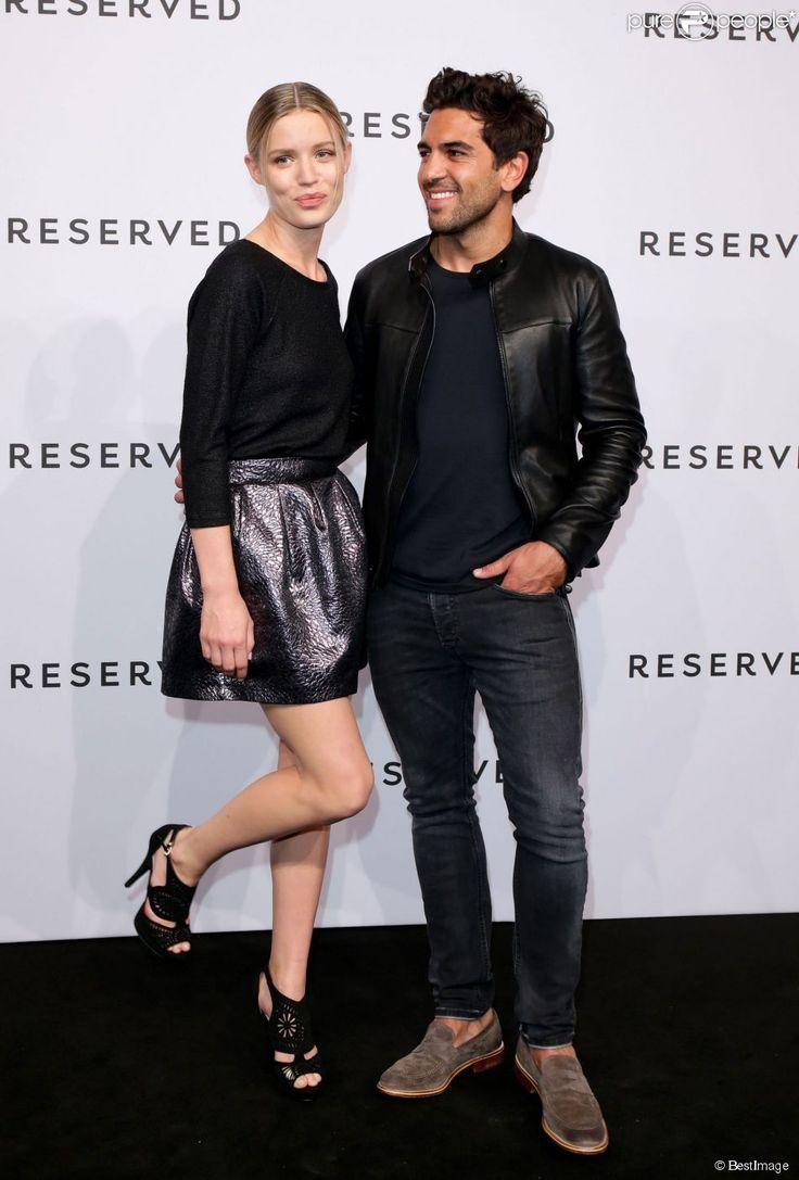 Georgia May Jagger et Elyas M'Barek assistent à la soirée Reserved lors de la Fashion Week de Berlin. Le 10 juillet 2014.