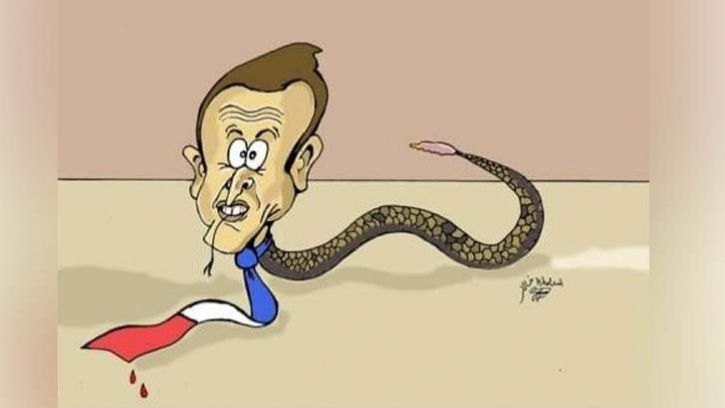 Macron S Caricature France S Stern Action Against Cartoonist Caricature Cartoonist Cartoon