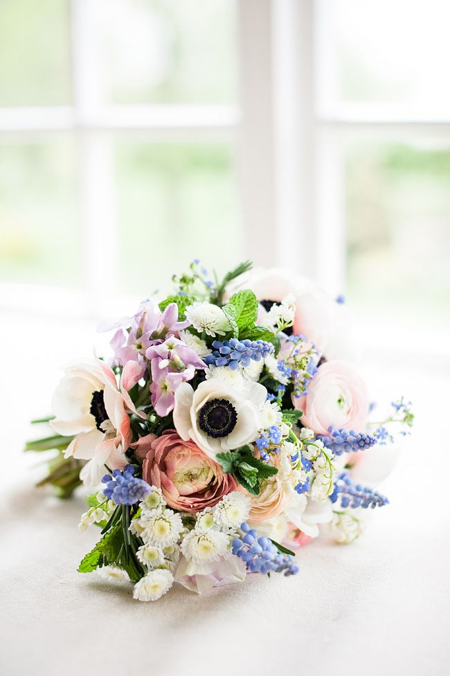 late spring wedding bouquet  Catkin  photo by Dominique Bader photography