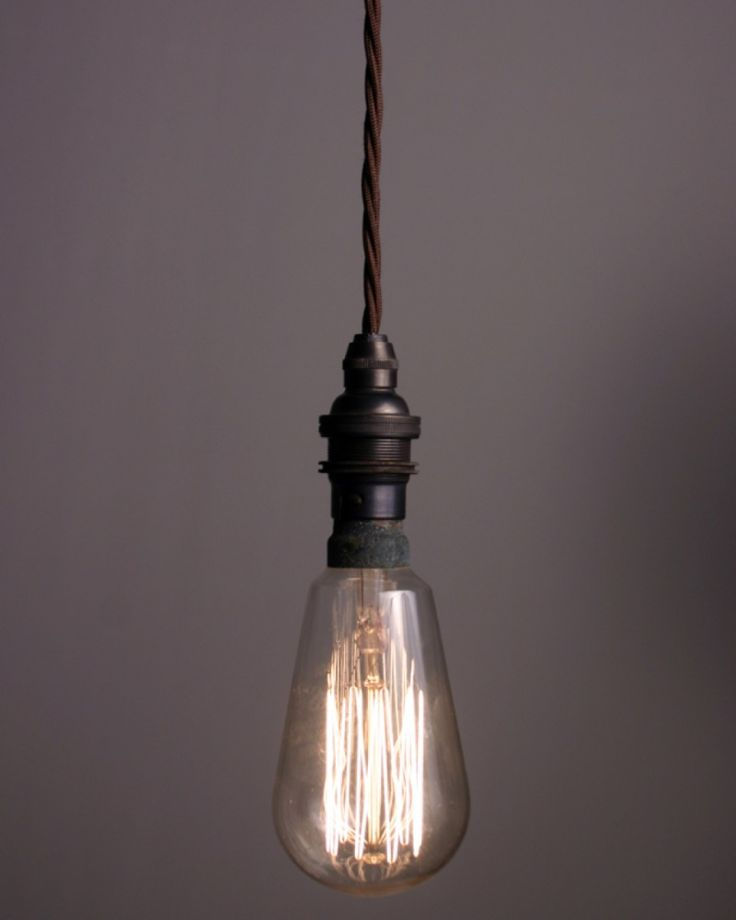 This one's not overly chunky, either. Need to find one/some that can hang at an angle, though. Not sure this bulb can.