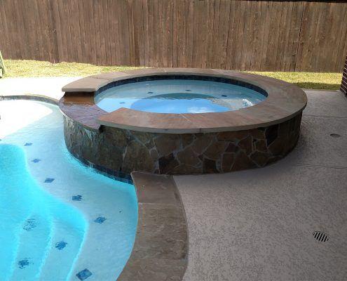 Conroe, TX 77304 inground gunite pool builders 8
