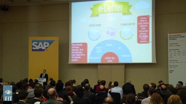 1 Eylül Sabahı e-Fatura ve e-Defter Sunumumuz  15 Mart 2013 Cuma günü İstanbul Kongre Merkezinde düzenlenen SAP İnovasyon Forumunda kelimenin tam anlamı ile dolu dolu bir gün geçirdik.    Katılan misafirlerimiz 1.000 çam finanını aldılar ve ümit ediyoruz ki toprakla buluşturdular.