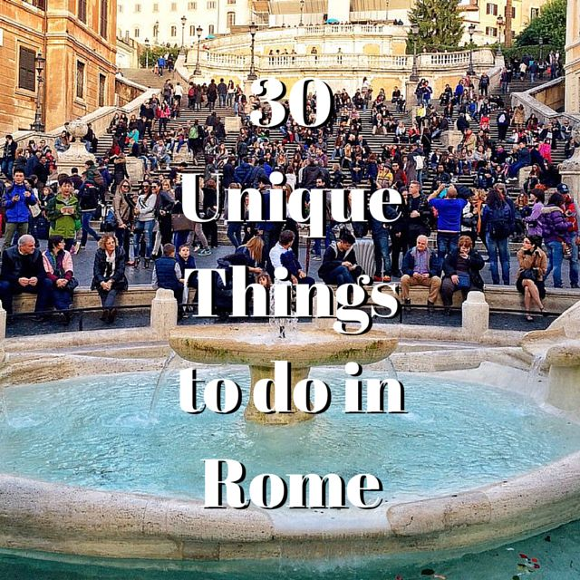 30 Unique Things to do in Rome | http://travelsofadam.com/city-guides/rome/