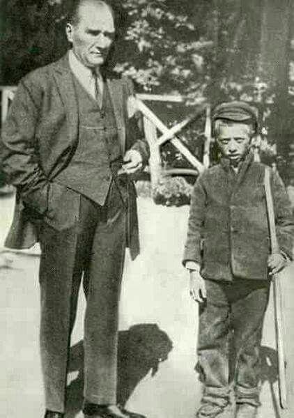 Atatürk ve çoban Mustafa