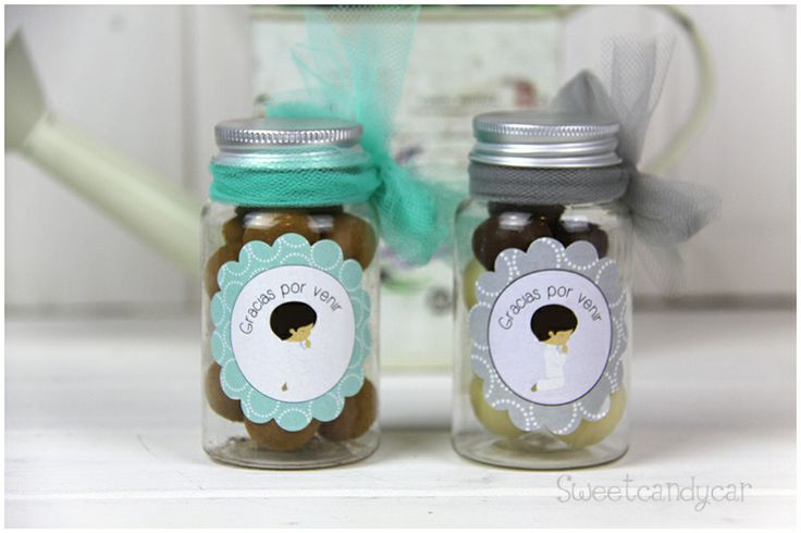 first communion favor jar