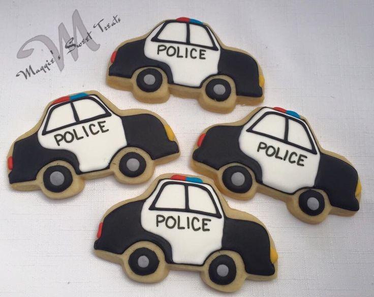 Police Car Cookies