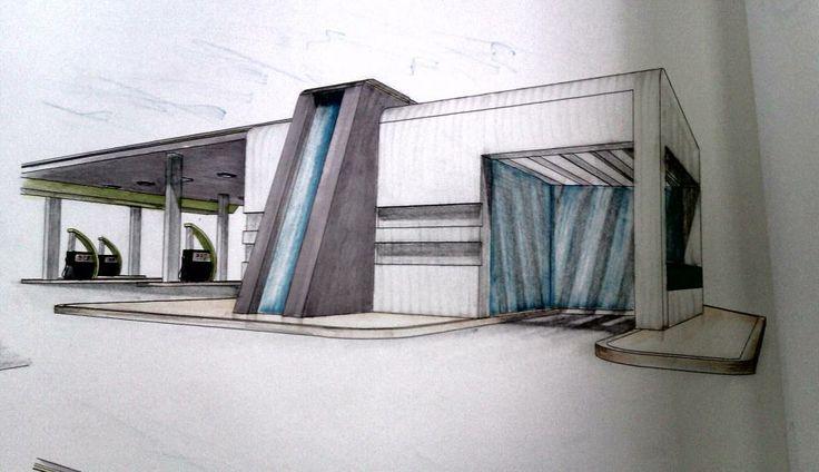 Exterior Design Handy Sketch