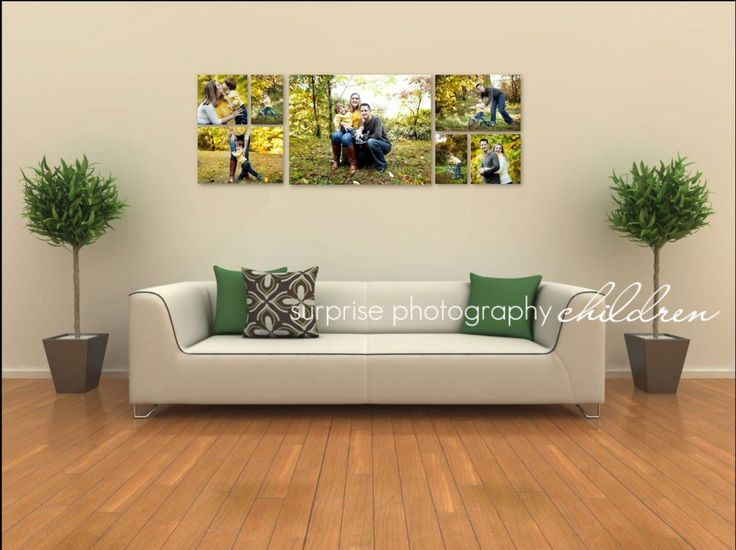 Best Canvas Cluster Images On Pinterest Photo Displays - Wall decals on canvas