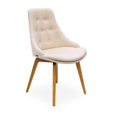 € 249,00 #sconto 50% #sedia #poltroncina di #design modello GLAMOUR SBC6, struttura in #legno, schienale alto impreziosito da impunture e #decorato con #bottoni, seduta imbottita con cuscino aggiuntivo colore #bianco, 100% #MadeinItaly. Ideale per #arredare la zona pranzo o in camera da letto. In #offerta prezzo su #chairsoutlet factory #store #arredamento. Comprala adesso su www.chairsoutlet.com