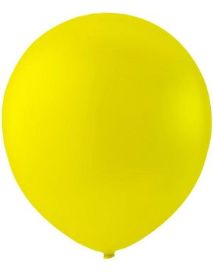 100 stk 23 cm MEGAPACK - Gule Ballonger