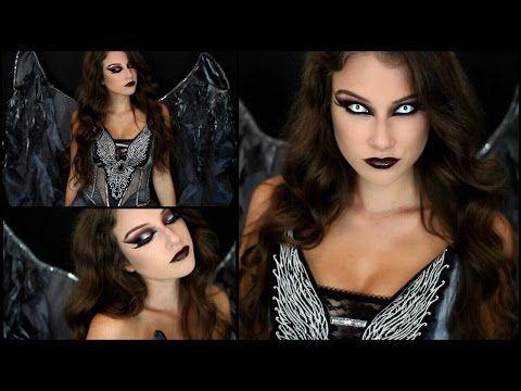 Dark Angel Halloween Makeup Tutorial by Kelly Marie - Halloween Costume Ideas