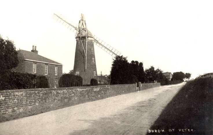 Wind mill at Burgh St Peter.