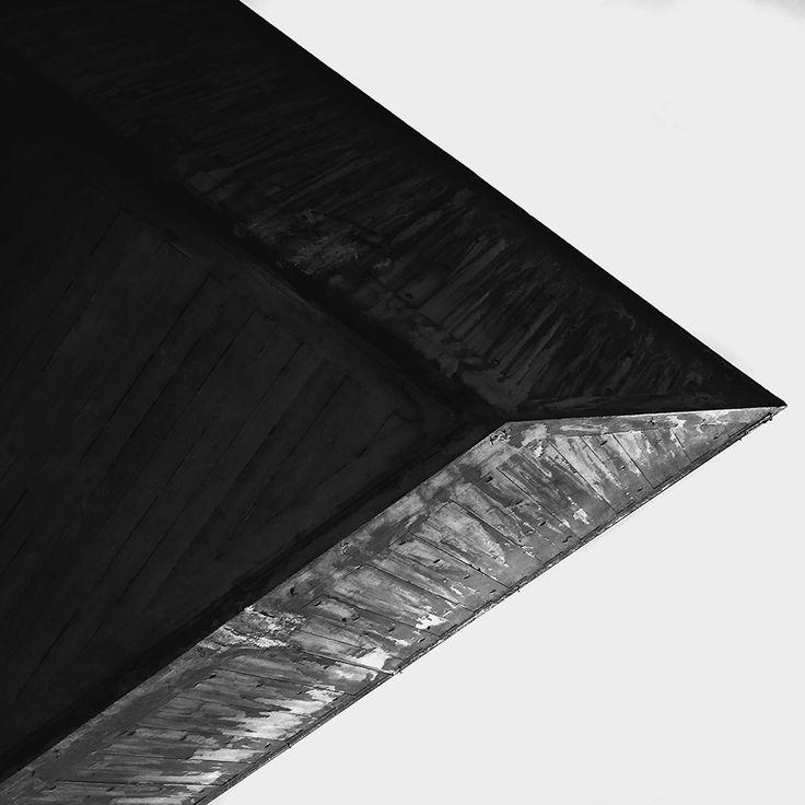 """""""Concrete"""" - Black & white B&W analog art film fine art photography - 2013 Konstans Zafeiri analogue photography"""