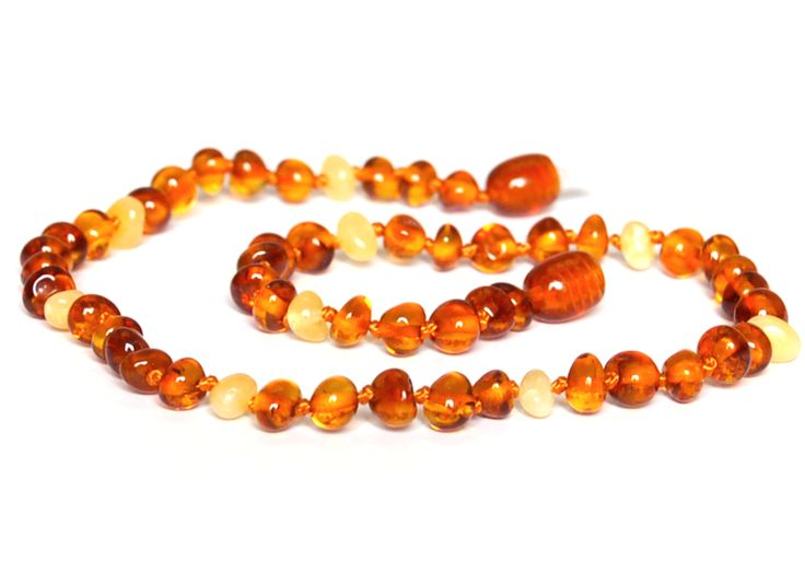 Baltic Amber Necklace - Cognac & Butter