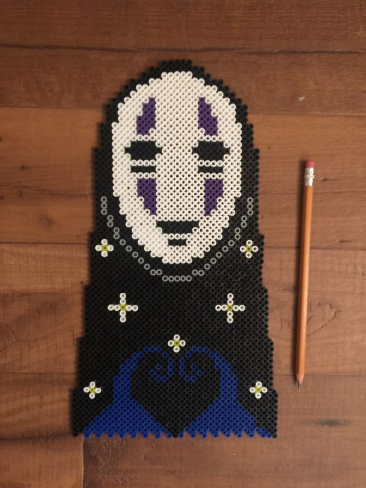No Face Spirited Away Perler Beads By 8bitaliens Rave