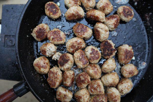 Tareq's Swedish Meatballs - Tareq Taylor's Nordic Cookery