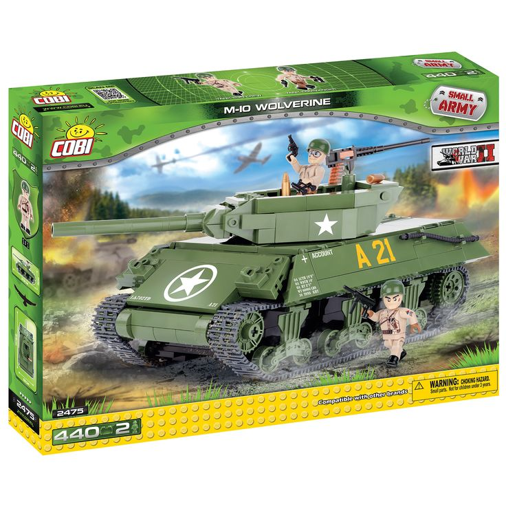 Cobi Small Army M10 Wolverine Kit