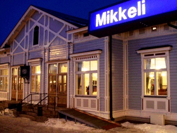 Mikkeli train station (Finland) and that feeling about being back