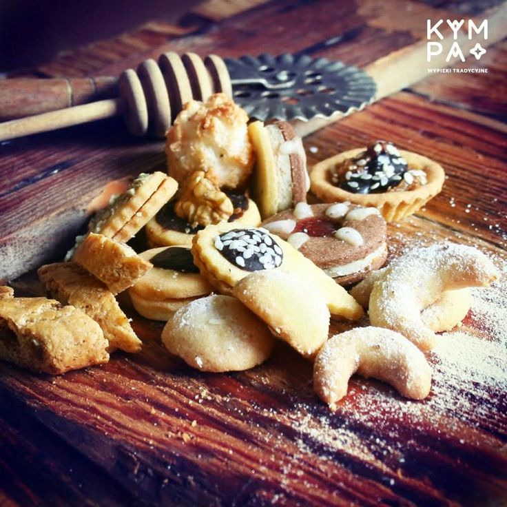 Kruche, maślane i delikatne ciasteczka cieszyńskie. Klasyka gatunku :)