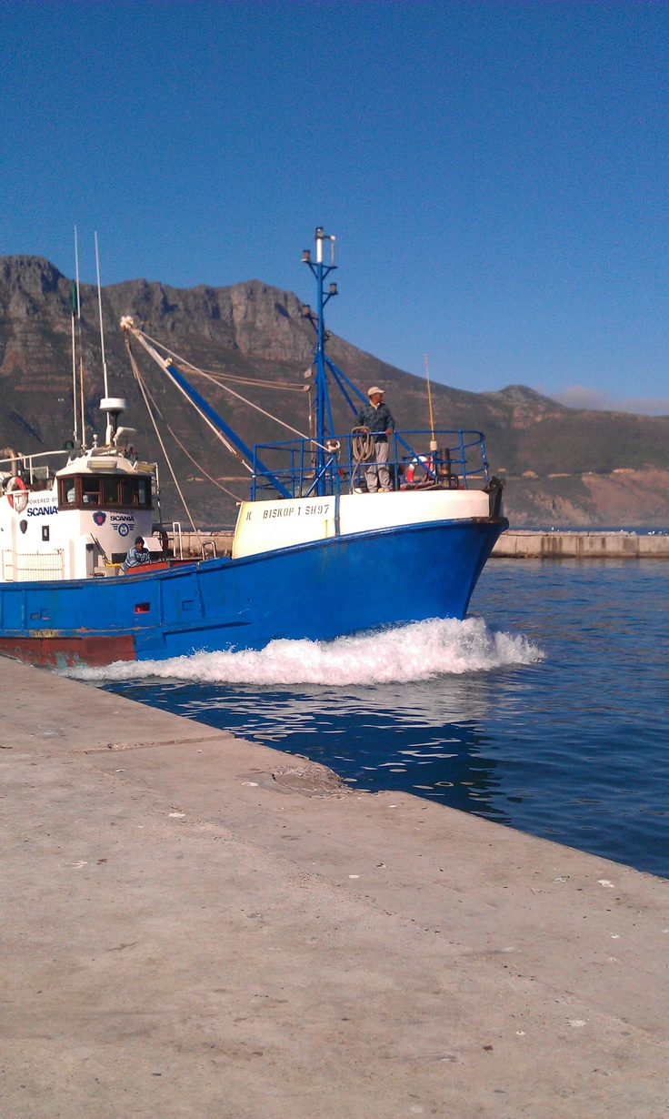 Fishing Boat returning to Hout Bay