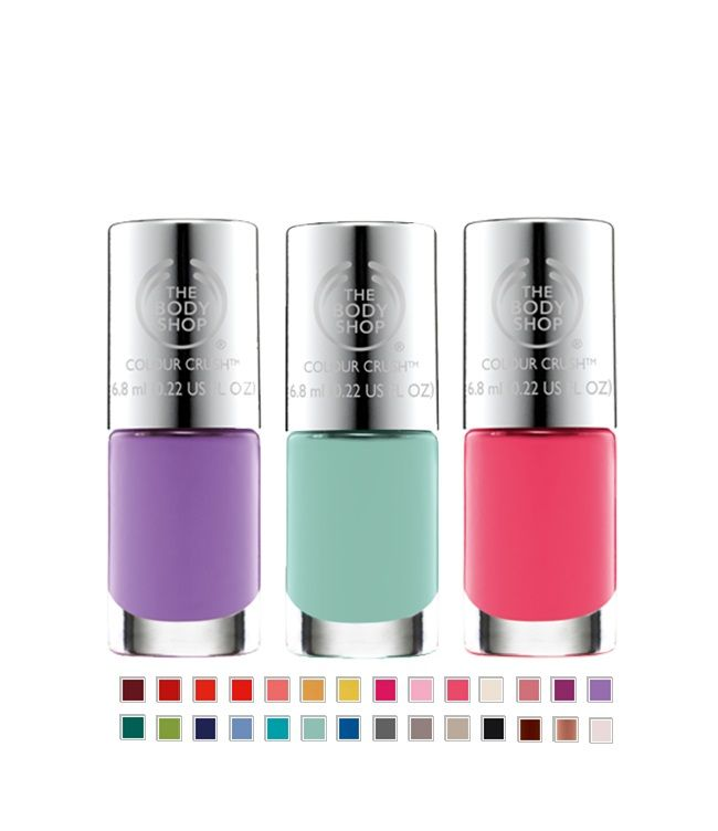 Instant happiness for your hands! Colour Crush Nail Polish. #Happy #Hands #Colour #Polish