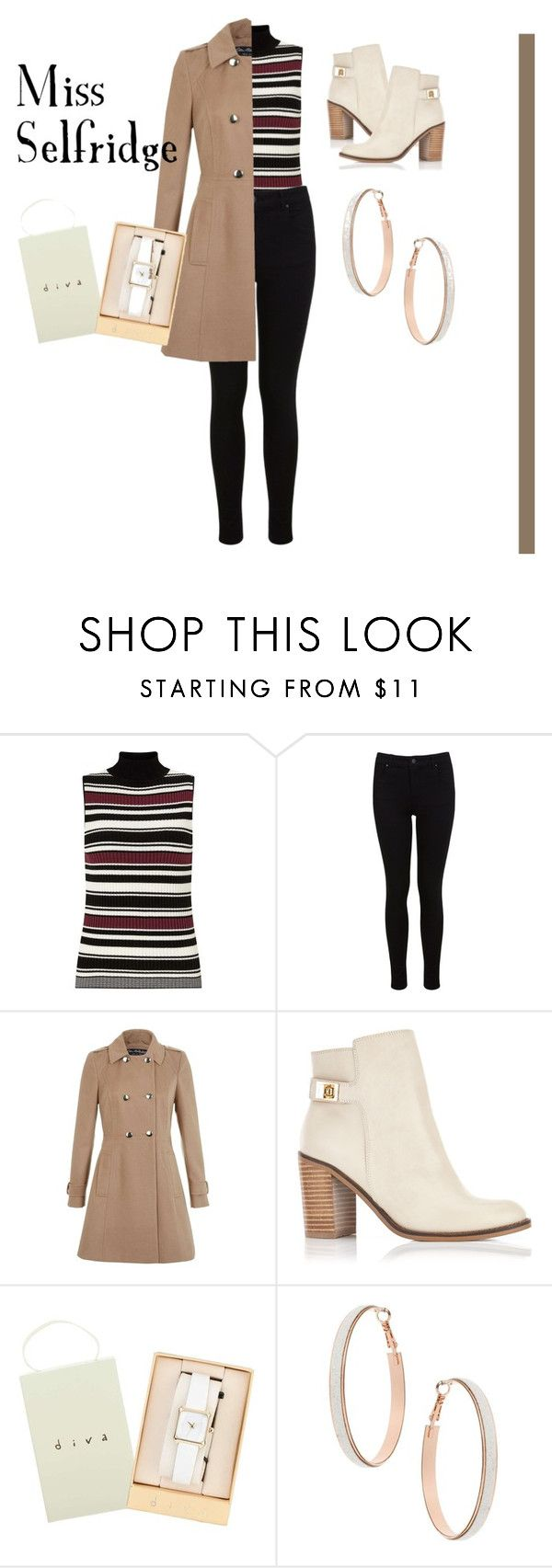 """""""Miss Selfridge"""" by eviejessup on Polyvore featuring Miss Selfridge"""