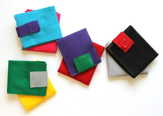 how to make a magic wallet out of fabric
