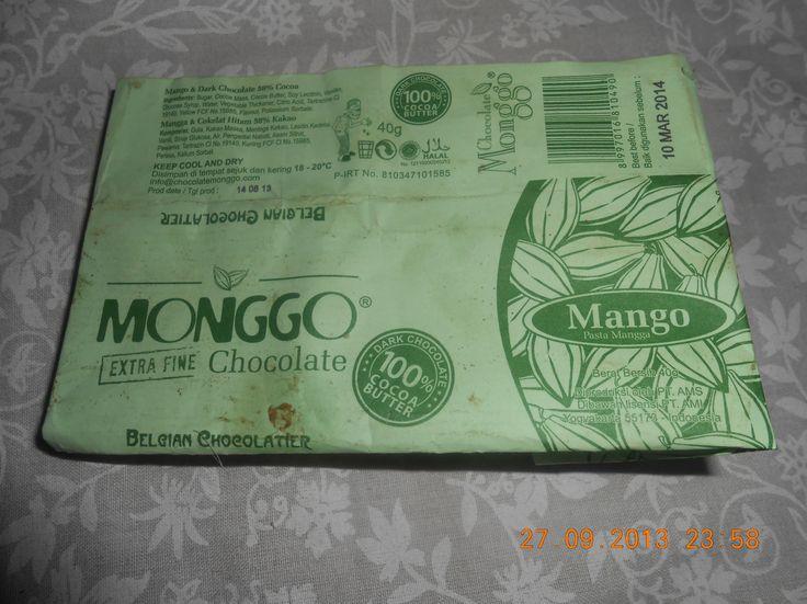cokelat monggo, oleh2 dari jogja