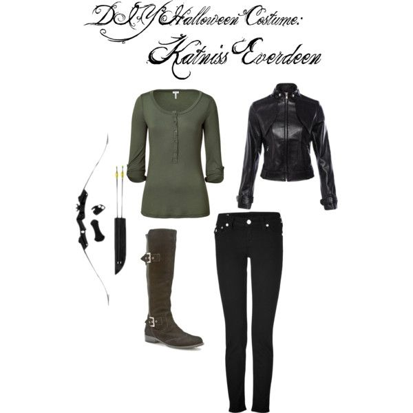 """DIY Halloween Costume: Katniss Everdeen"""