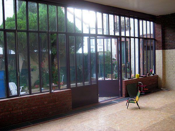 Mon reve le mien aussi with vitrage style atelier for Vitre style atelier