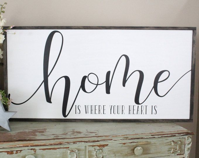 Home Is The Story Of Who We Are Wood Sign Welcome Home Wall Art Farmhouse Decor Wood Sign Saying Large Wood Sign Living Room Sign In 2020 Etsy Wall Art Inspirational