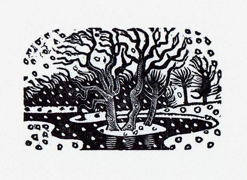 Eric Ravilious. Winter.