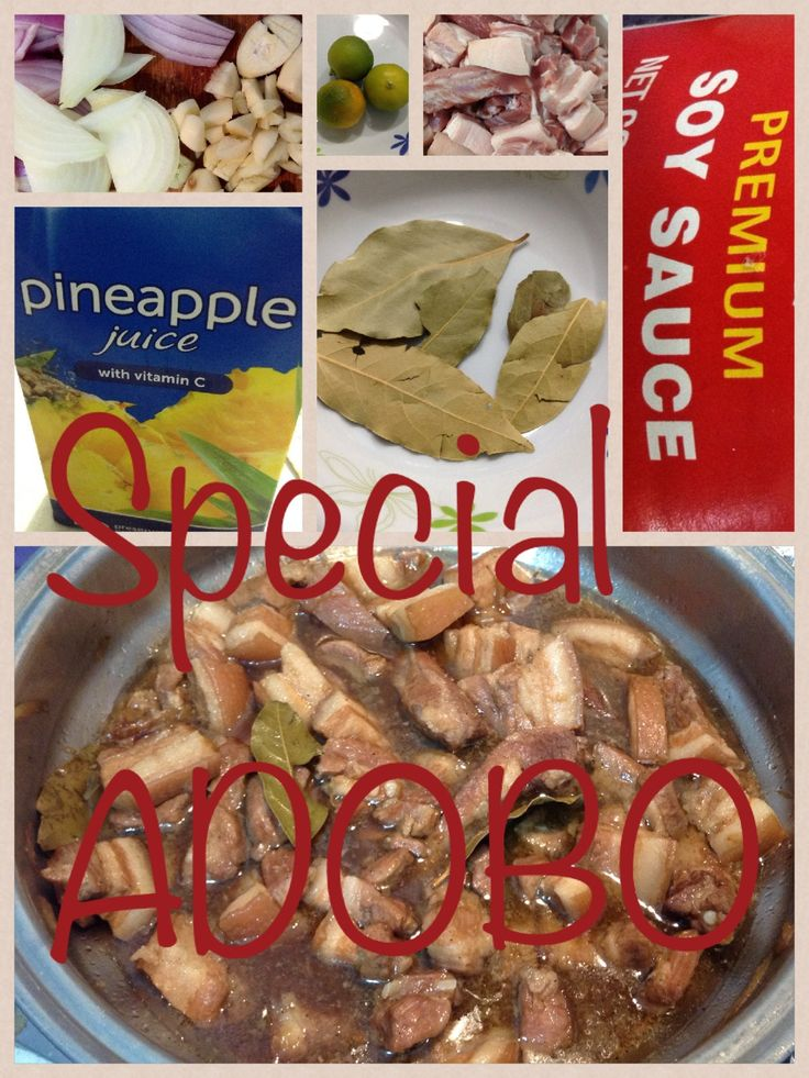 My special adobo
