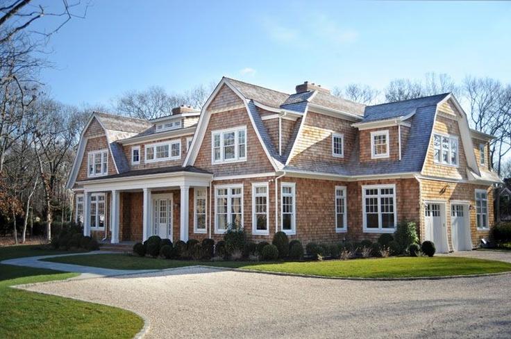 Gambrel Rooflines Shingle Style Gambrel Hamptons Style