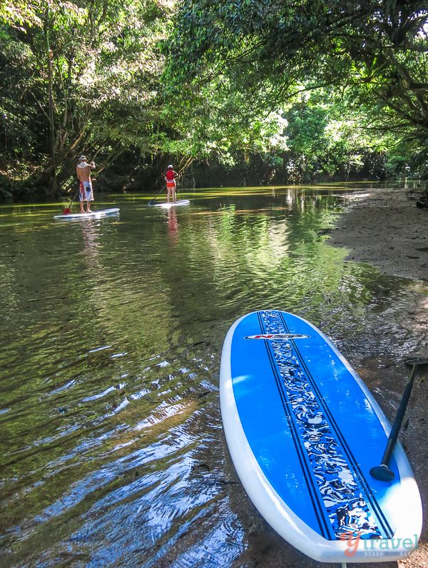 Stand Up Paddle Boarding in Port Douglas, Queensland, Australia - Adding this to my list of vacation sites