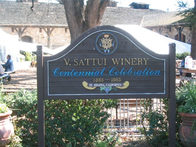This was also one of our favorite wineries in Napa/Sonoma Valley.  V. Sattui Winery.