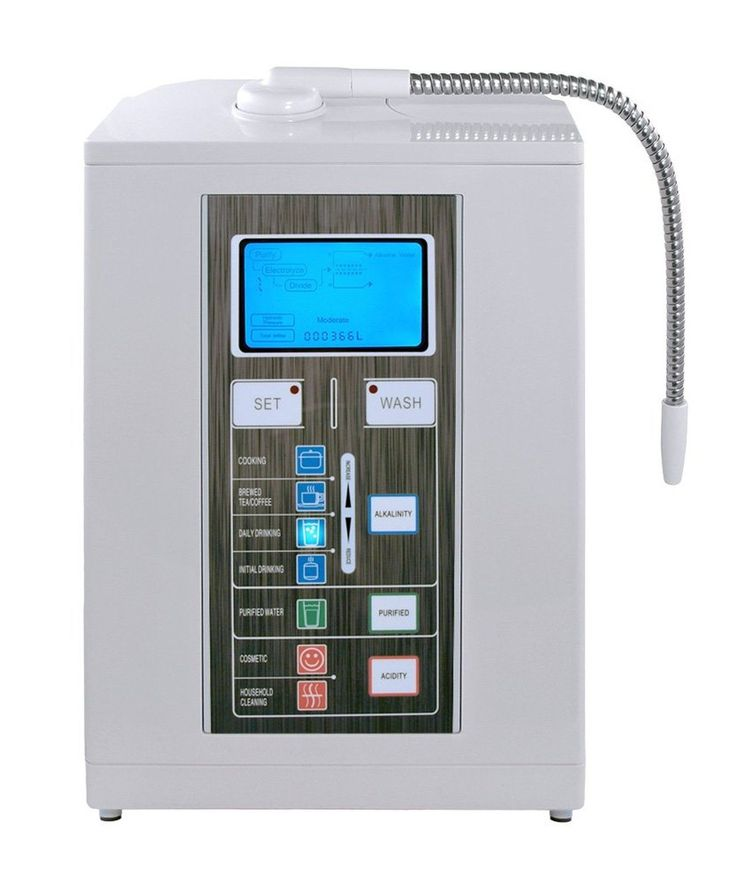 Aqua-Ionizer Deluxe 7 Plate Alkaline Water Ionizer and Alkaline Water Machine...