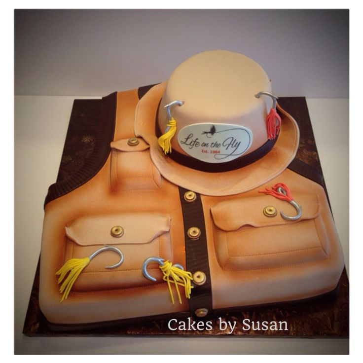 34 best Fly Fishing Cakes images on Pinterest Descendants cake